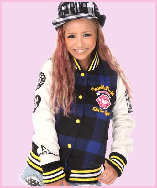 COCOLULU CO&LU Baseball Jacket