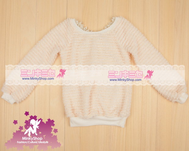 Kawaii Bow Cosy Jumper