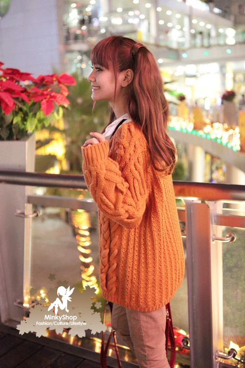 Snidel Cable Knit Sweater