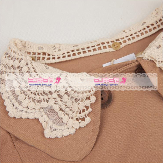 Snidel Lace Collar Cape