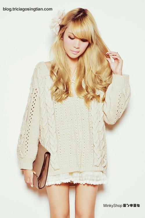 Tricia MinkyShop Sweater