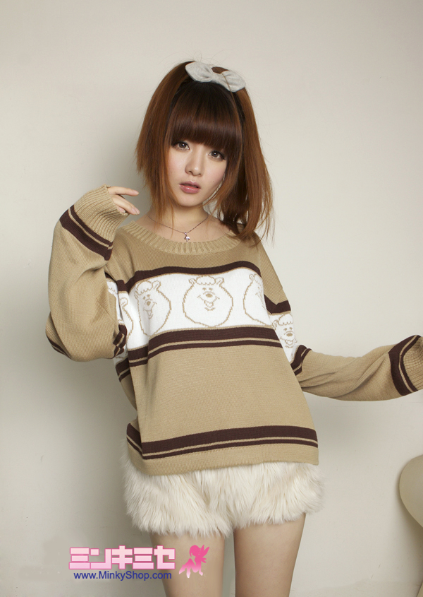 W♥C Kumatan Knitted Sweater Top