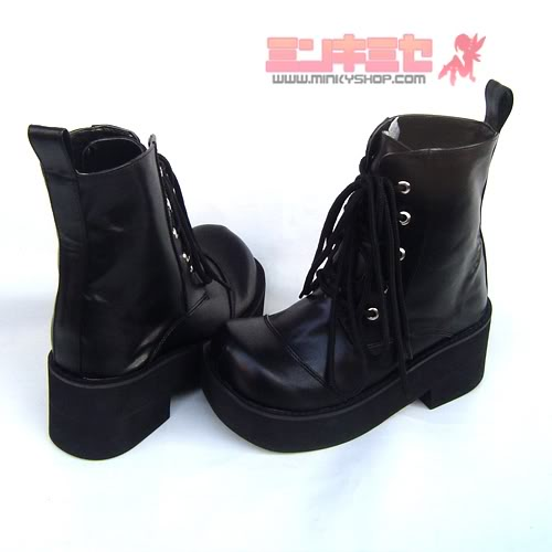 Antaina ankle-high engineer punk boots