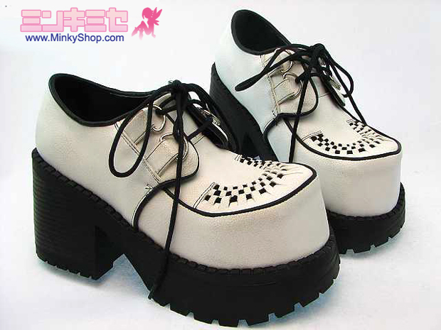 Punk Creeper Platform Shoes
