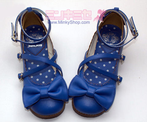 Secret Shop Tea Party Shoes Navy