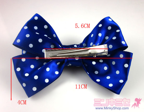 Cute Polka dots Hair Bow