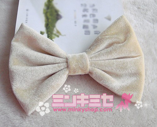Kawaii Huge Velvet Hair Bow