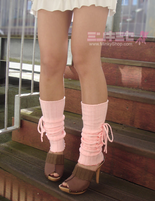 Sweet Baby Pink Leg Warmers